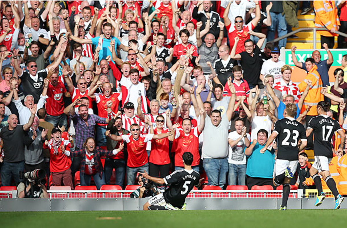 Dejan Lovren scored on a header as Southampton handed Liverpool a loss at home.