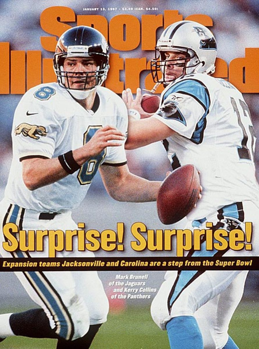 Mark Brunell, Kerry Collins