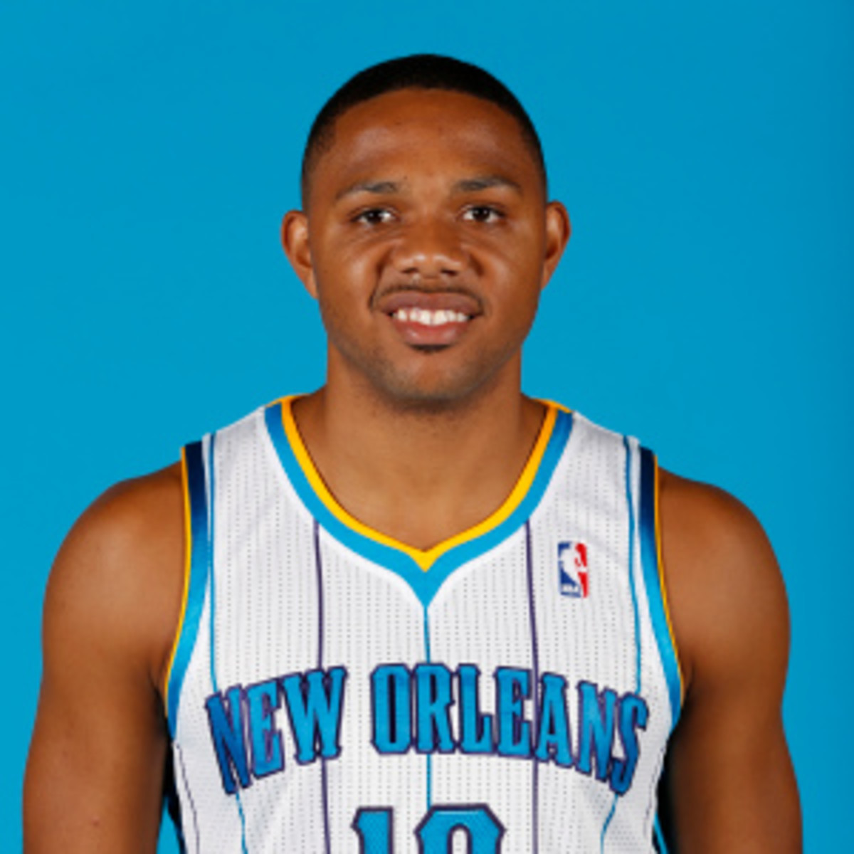 Eric Gordon is being shopped by the Hornets. (Layne Murdoch Jr./Getty Images)