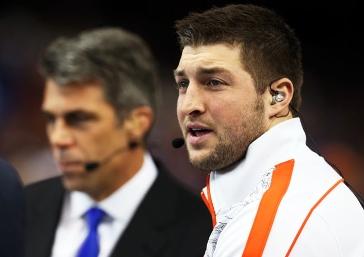 ESPN has hired Tim Tebow to be a college football analyst on SEC Nation, which will debut on Aug. 28.