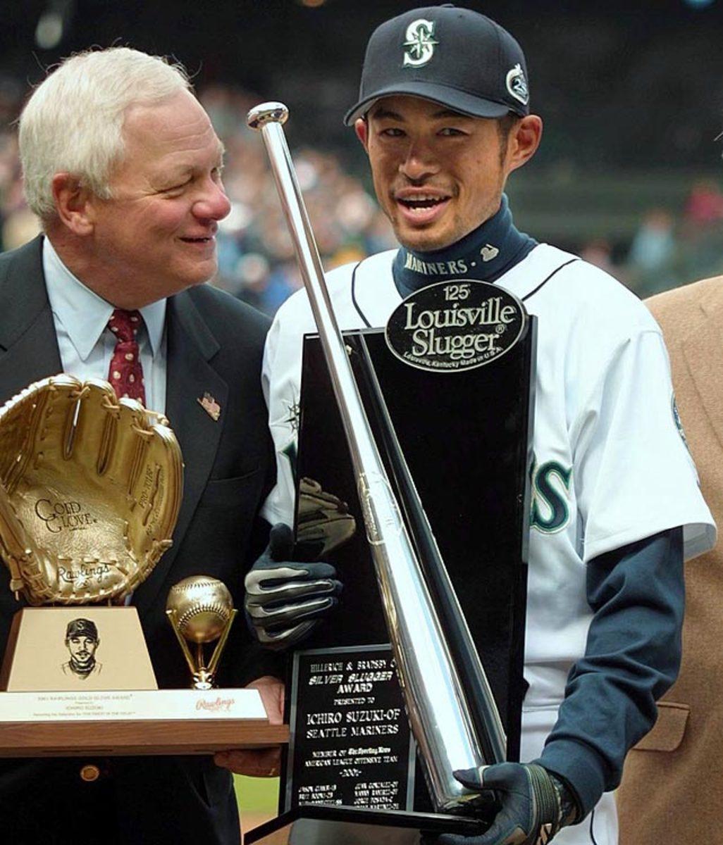 Ichiro Suzuki and Mariners President Chuck Armstrong