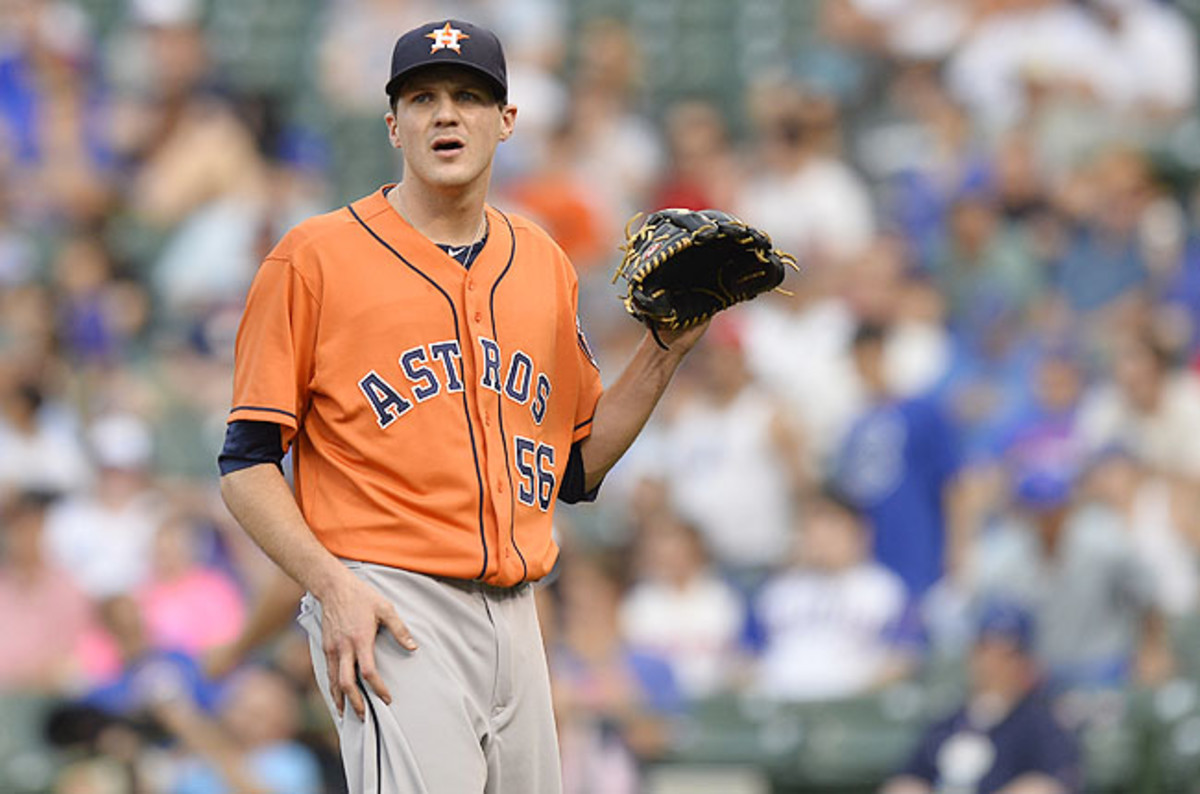Clemens was roughed up Friday against Toronto and was 4-4 with a 6.36 ERA in 30 games for the Astros.