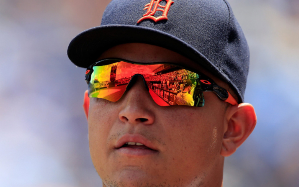 Detroit Tigers slugger Miguel Cabrera has a groin tear that could require surgery. (Jamie Squire/Getty Images)
