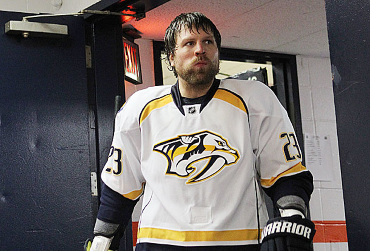 The Flames traded for Brian McGrattan when they could have had him for free.