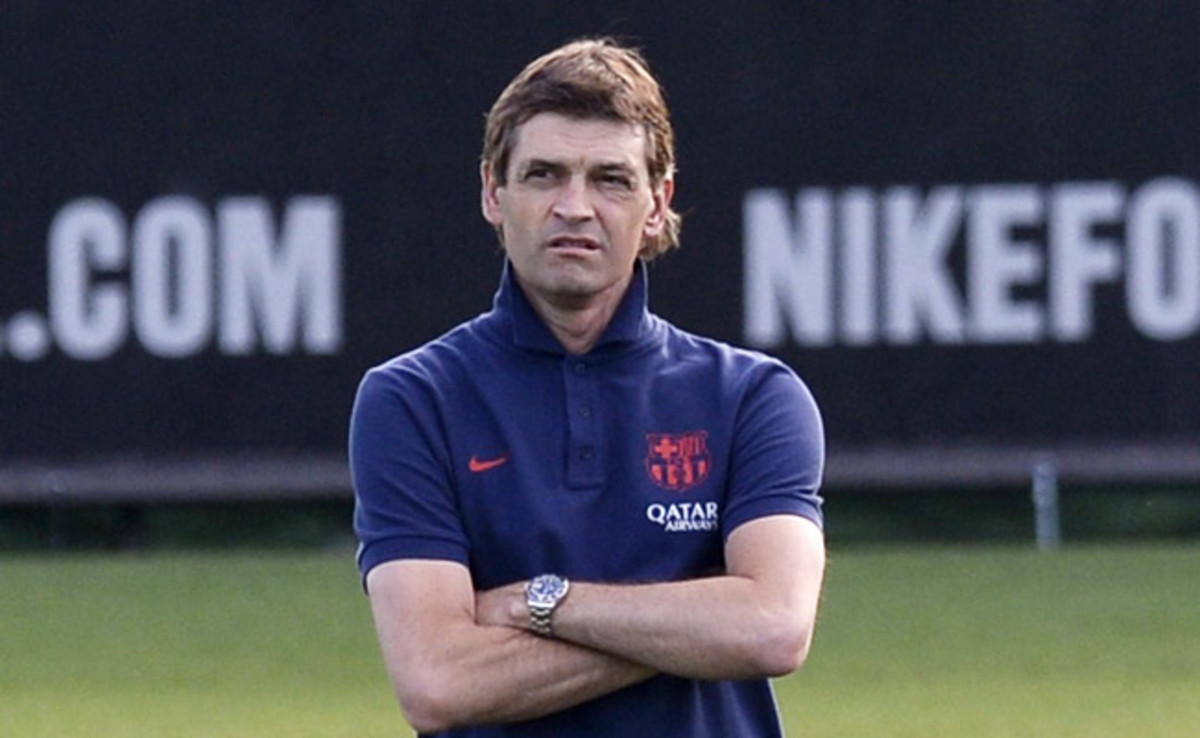 Tito Vilanova had twice previously had to take a medical break from his duties at Barcelona.