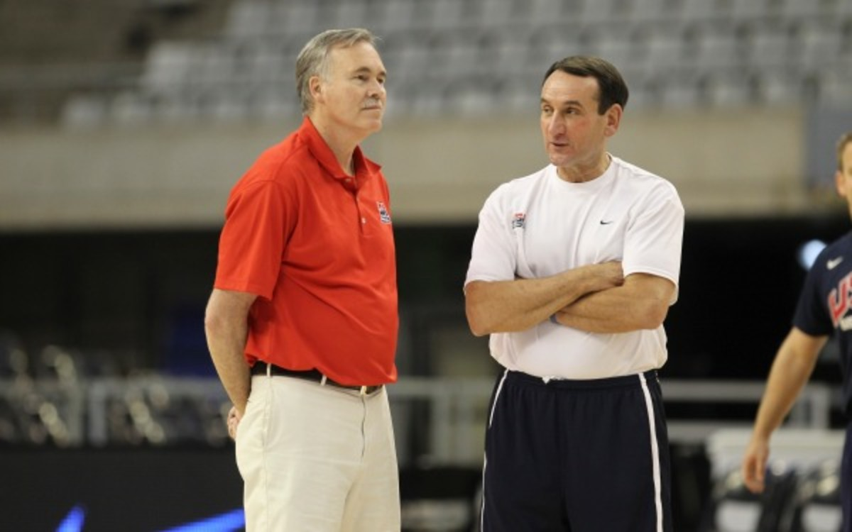 Team USA assistant Mike D'Antoni will reportedly not return to the team. (Catherine Steenkeste/NBA/Getty Images)