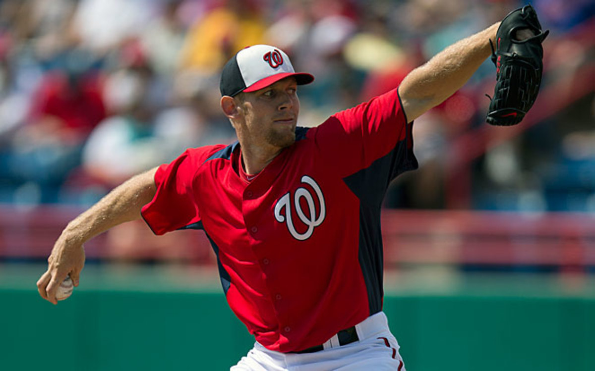 The Nationals have said there will be no innings restrictions on Stephen Strasburg this season.
