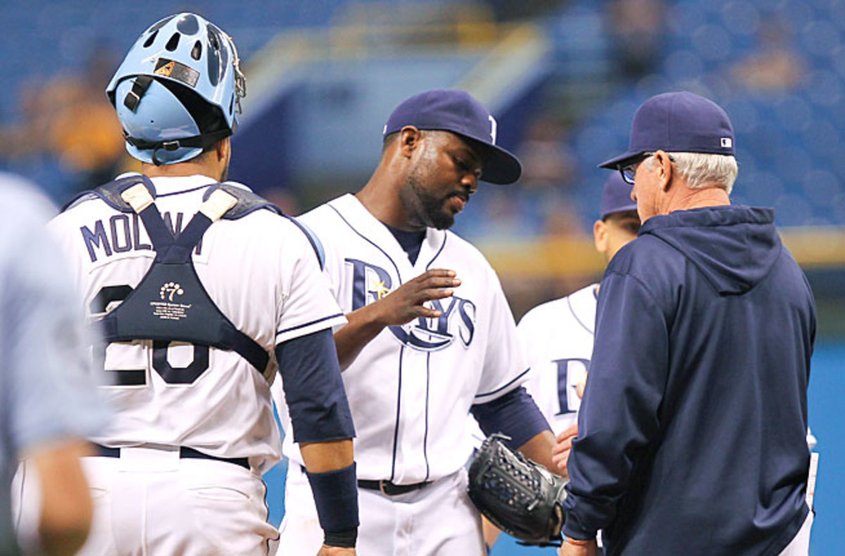 Fernando Rodney had 48 saves in 50 chances and a 0.60 ERA last year; this year, he's blown five of 14 save tries and has a 5.75 ERA.