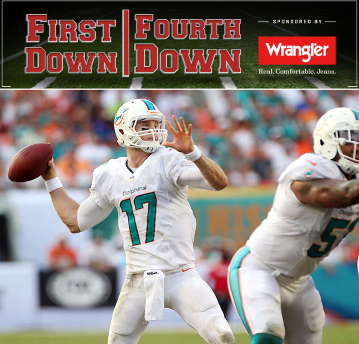 Ryan Tannehill has taken a big step forward this season and has the Dolphins sitting 3-0.