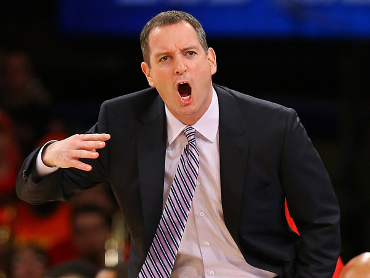 Footage of Rutgers coach Mike Rice verbally and physically assaulting players circulated Tuesday. (Al Bello/Getty Images)