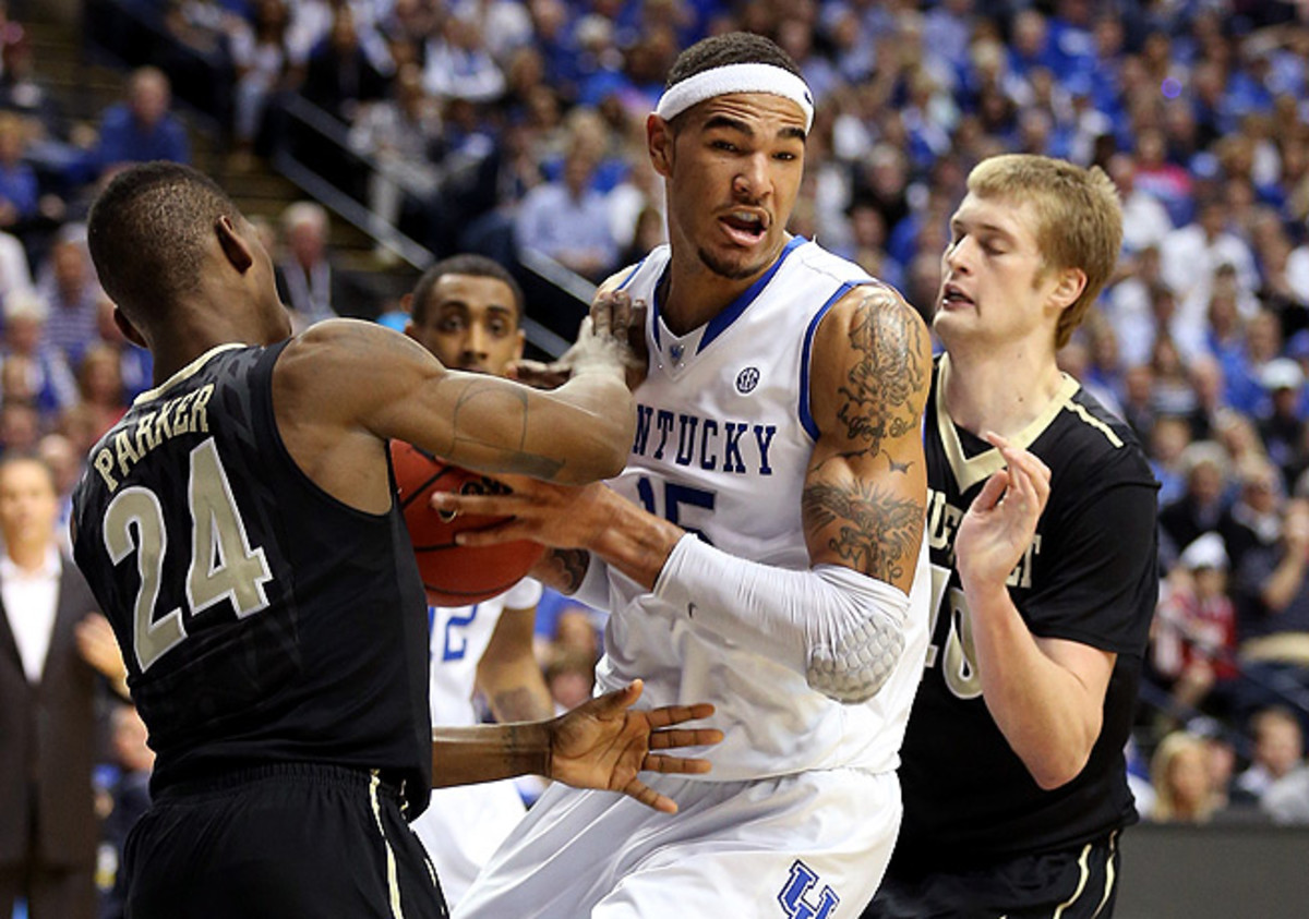 Kentucky's Willie Cauley-Stein was named to the SEC all-rookie team last season.