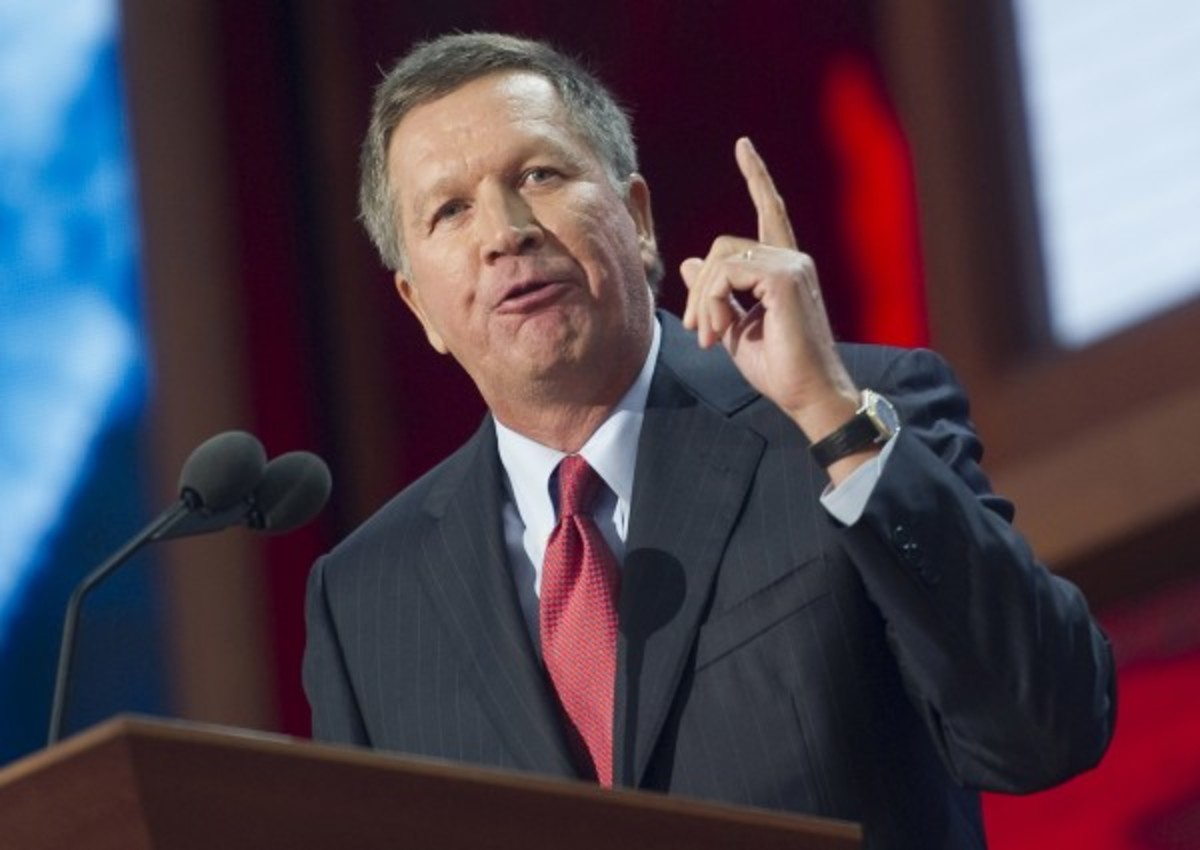 Ohio Gov. John Kasich (Roll Call/Getty Images)