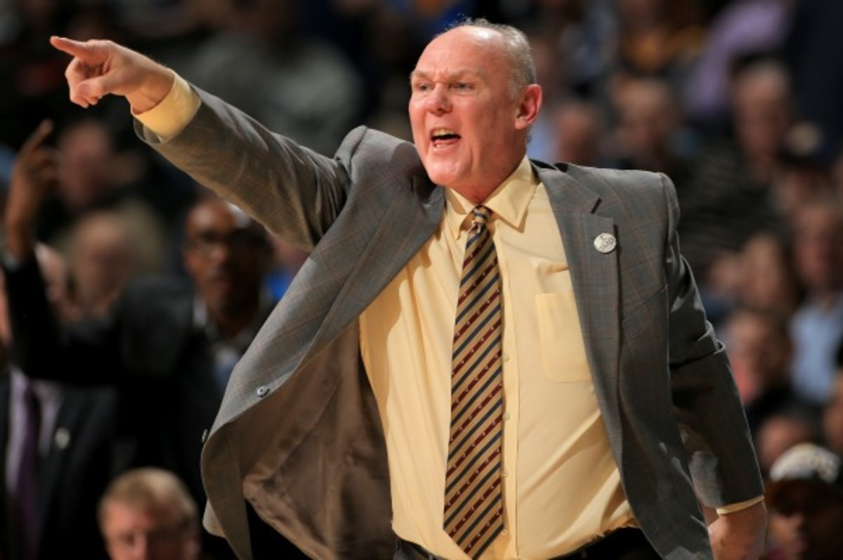 George Karl was fired by the Nuggets shortly after being named NBA Coach of the Year. (Doug Pensinger/Getty Images)