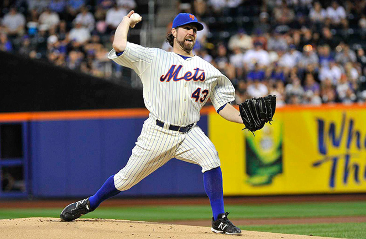 Many consider R.A. Dickey, who was traded to Toronto in the offseason, to be a one-season wonder.