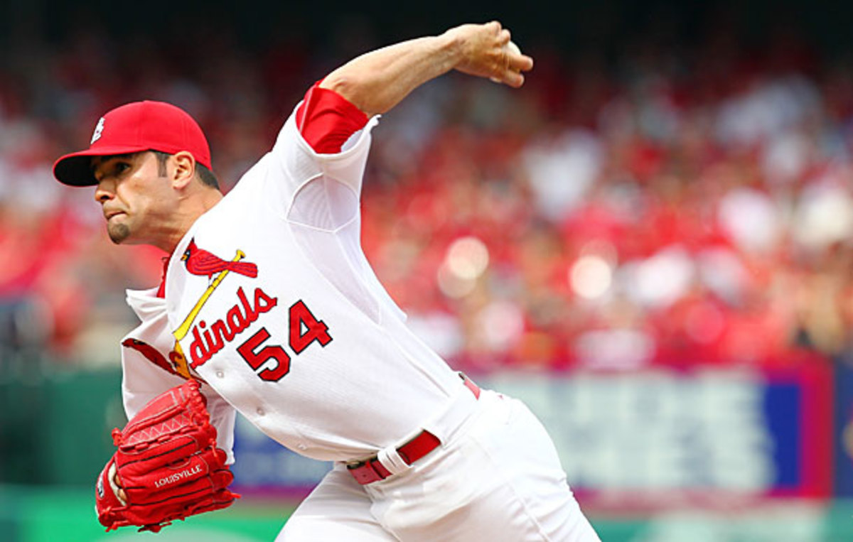 Jaime Garcia is likely to be out for the rest of the season. (Dilip Vishwanat/Getty Images)