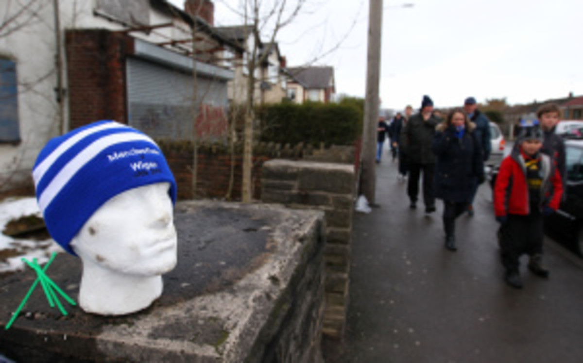 British soccer team The Macclesfield Silkmen need to raise £100,000 by the end of August, and there's employing a rather unusual fundraising method. (Alex Livesey/Getty Images)