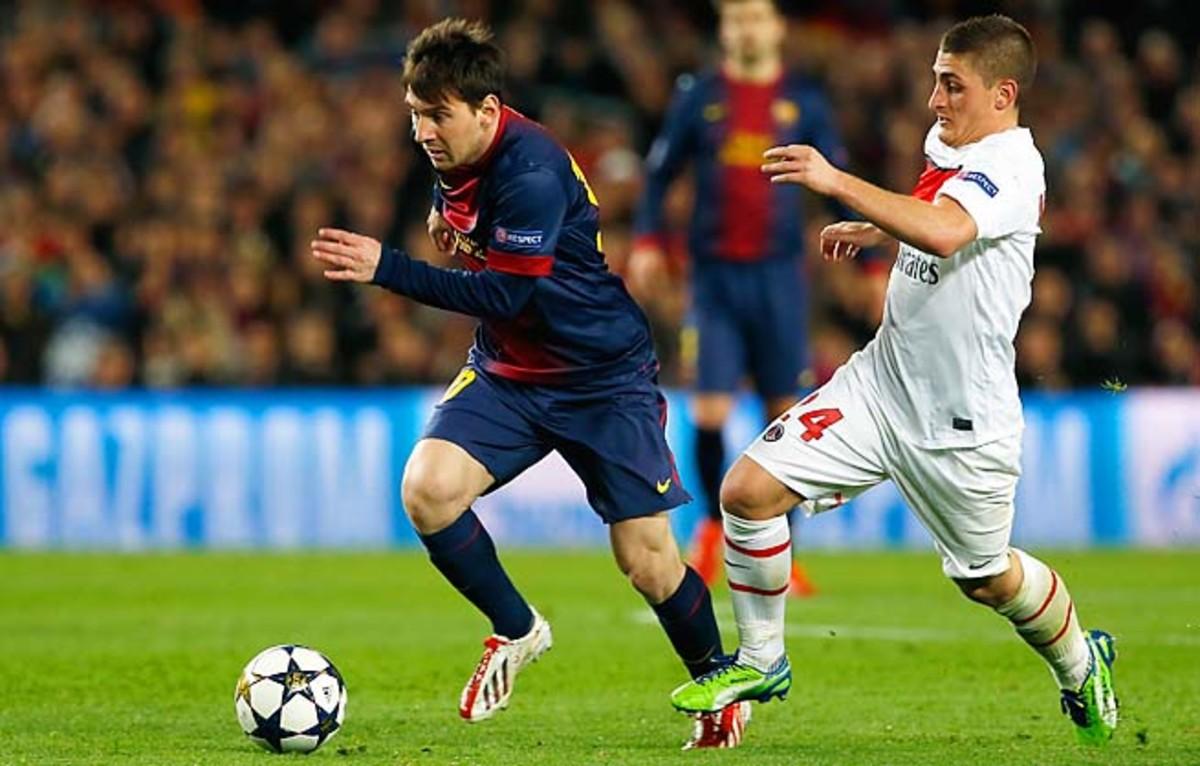 Lionel Messi is fit to play, Barcelona sporting director Andoni Zubizarreta said Monday.