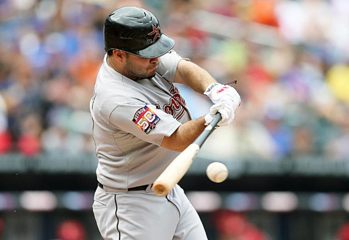 Astros' second baseman Jose Altuve