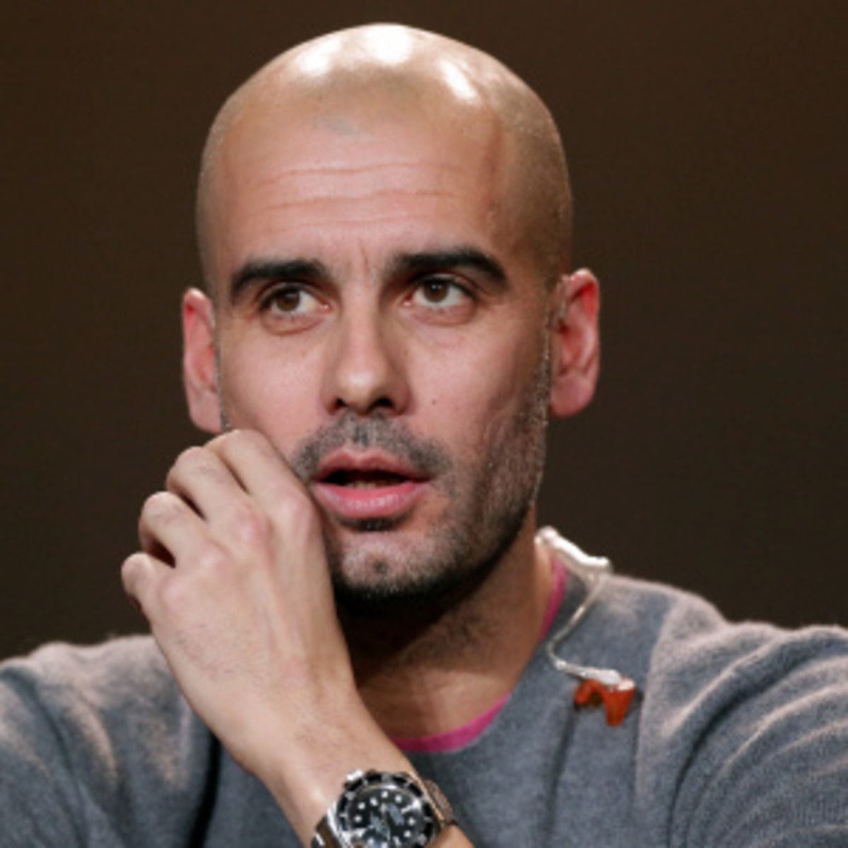 Ex-Barcelona manager Josep Guardiola reportedly spied on his players. (Christof Koepsel/Getty Images)