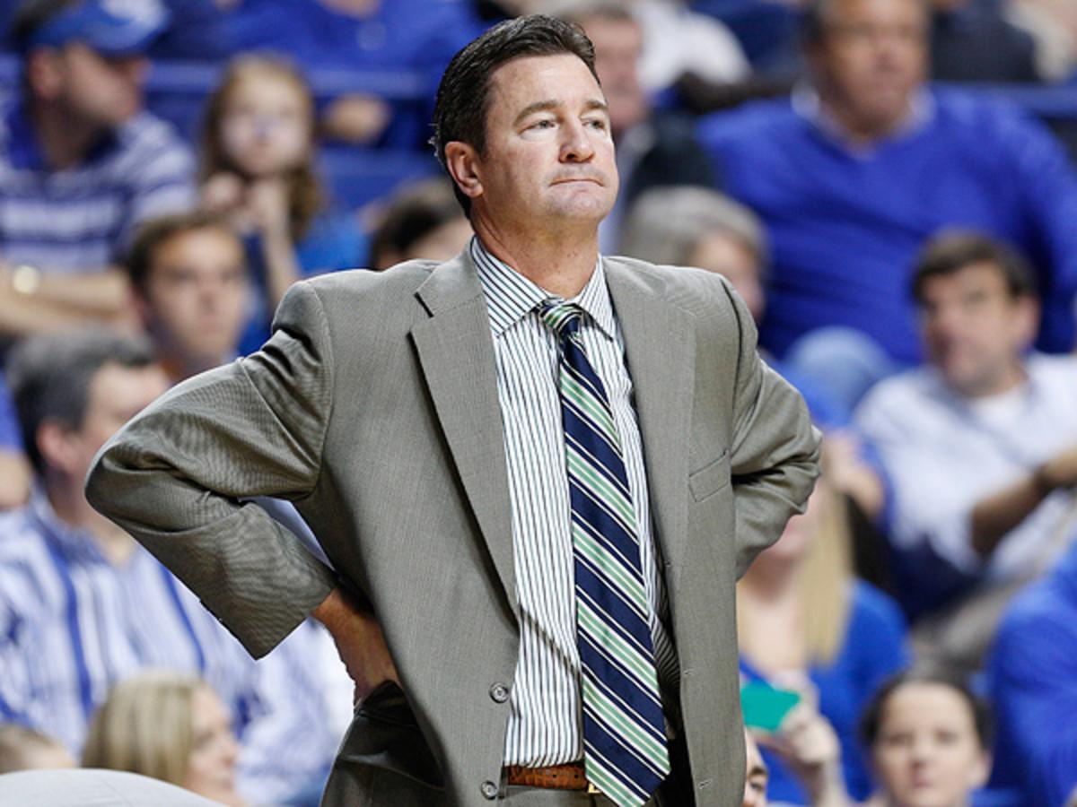 Lipscomb coach Scott Sanderson was 2-0 against Florida Gulf Coast this season. (Joe Robbins/Getty Images)