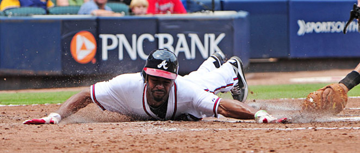 Michael Bourn was considered one of the top players in this offseason's free agent class but he's still without a new team.