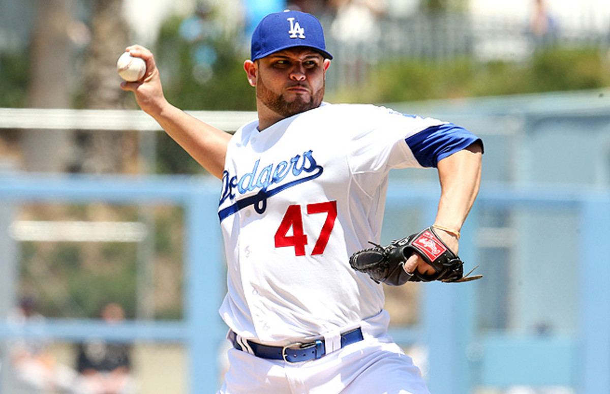 Now that he's playing in Dodger Stadium, Ricky Nolasco should see improvement in the second half.