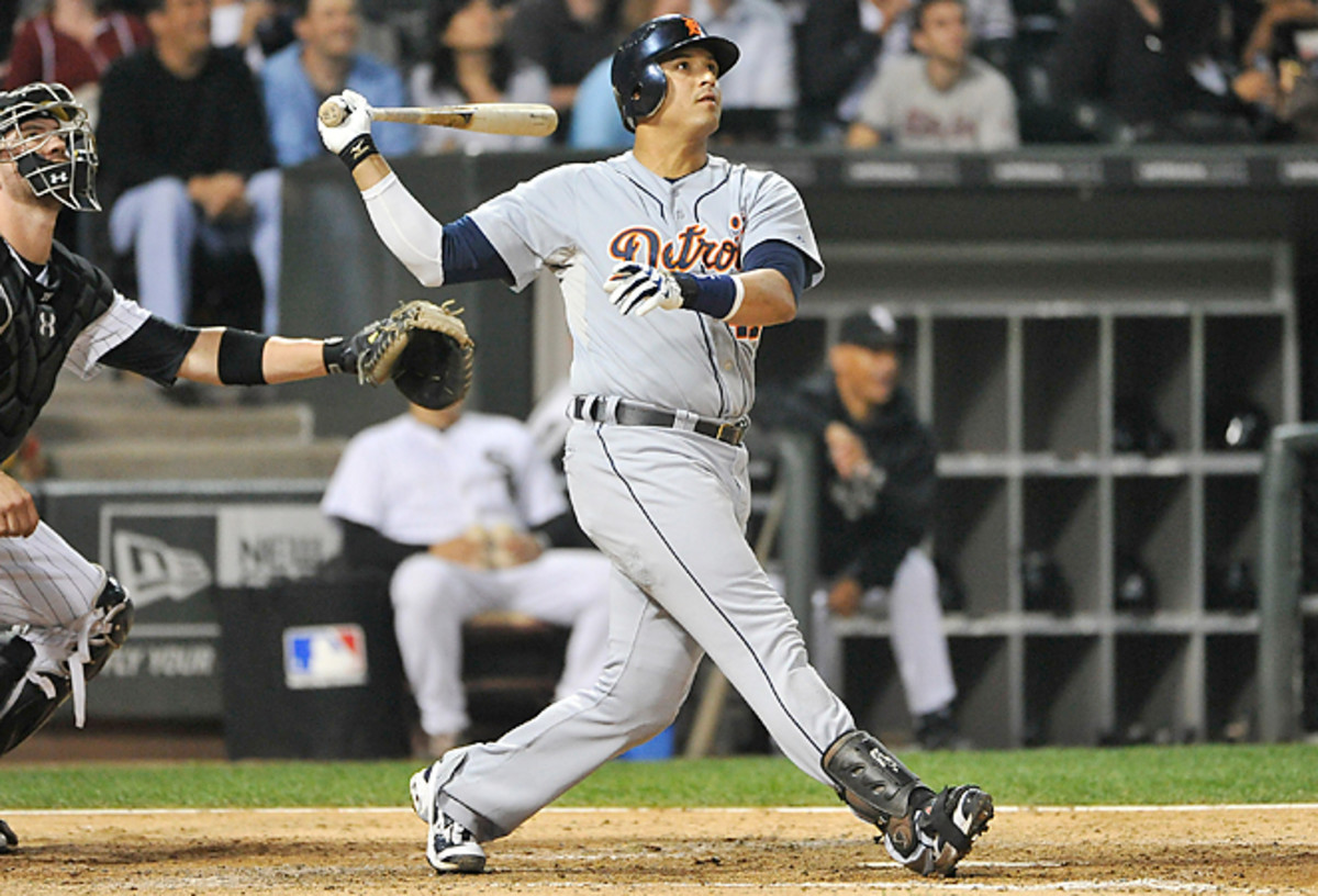 Coming off a torn ACL, Detroit's Victor Martinez will likely play more as a designated hitter in 2013.