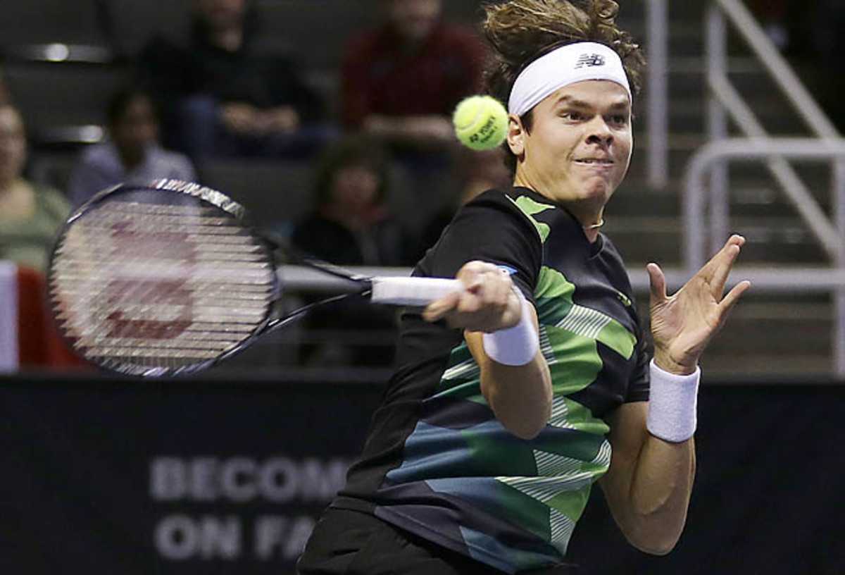 MIlos Raonic won his third straight title in San Jose in the tournament's final edition in the Bay Area.