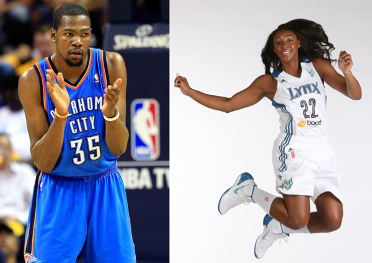 Thunder S Kevin Durant Engaged To Marry Lynx S Monica Wright Sports Illustrated