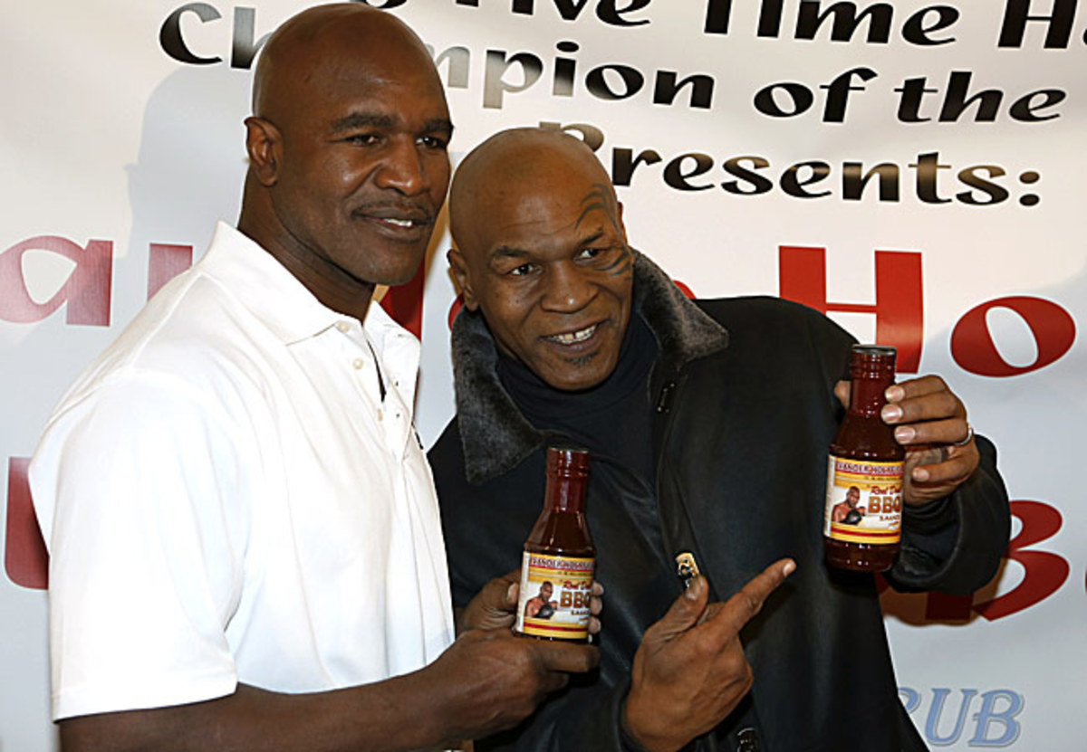 """""""I love Evander. I'm forever linked with him for the rest of my life,"""" said Tyson."""