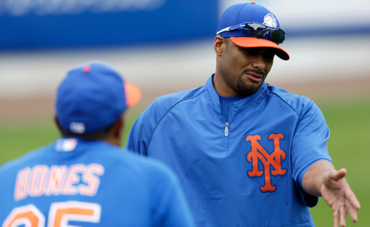 Injured Mets pitcher Johan Santana has not thrown a bullpen session since Feb. 6.