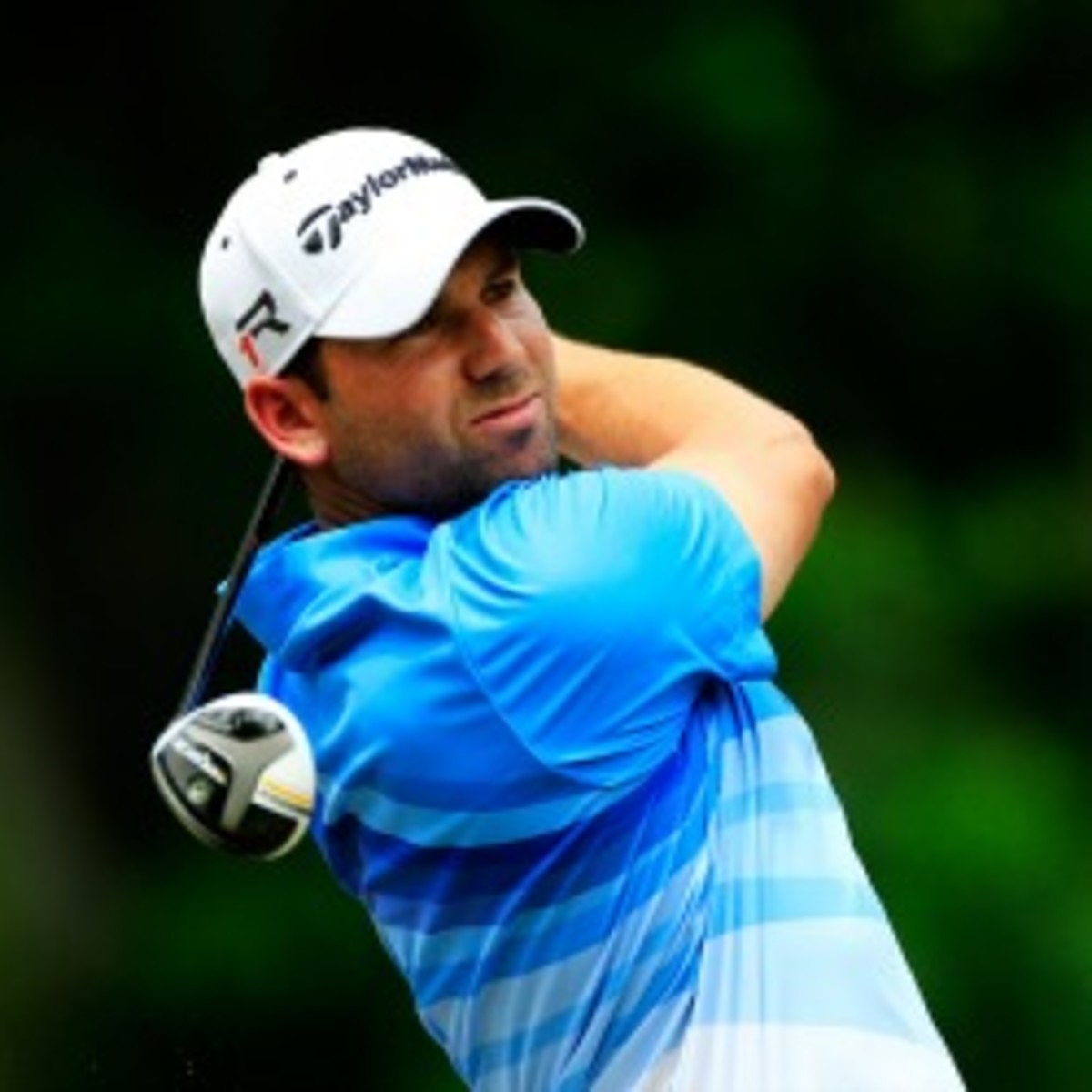 Sergio Garcia is in the hunt at the Players Championship. (Sam Greenwood/Getty Images)