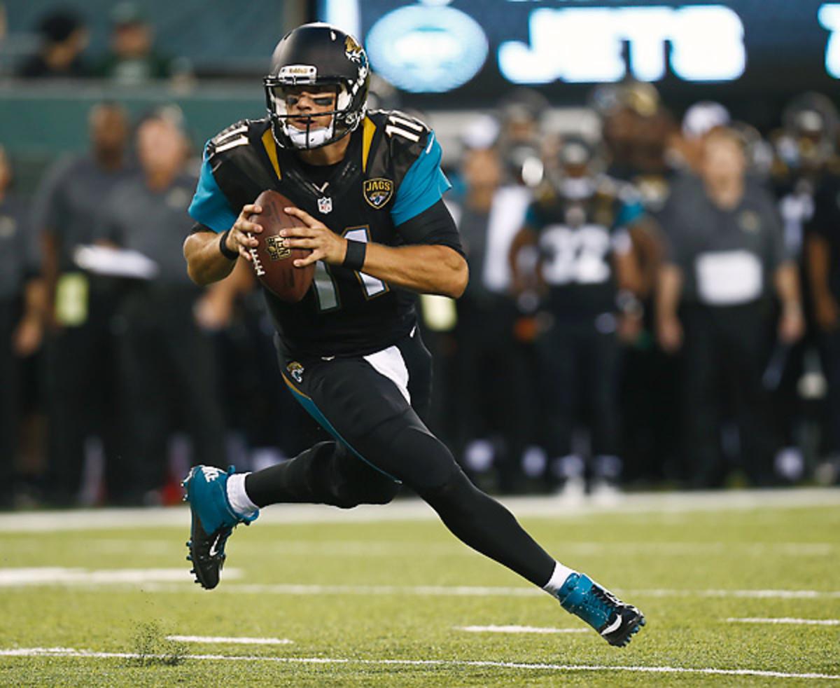 Blaine Gabbert will start the regular season for the Jacksonville Jaguars...if his thumb will allow him.