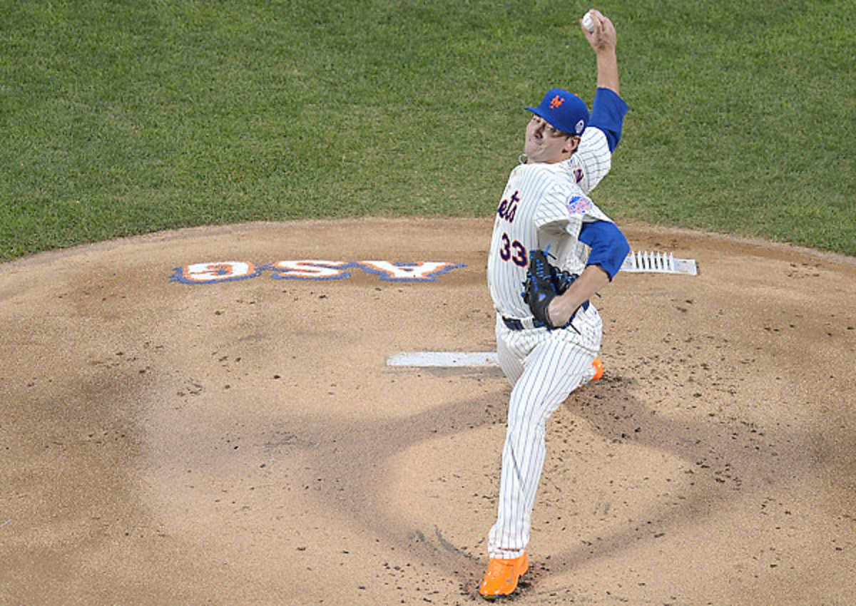 Matt Harvey started the All-Star Game for the National League in July.