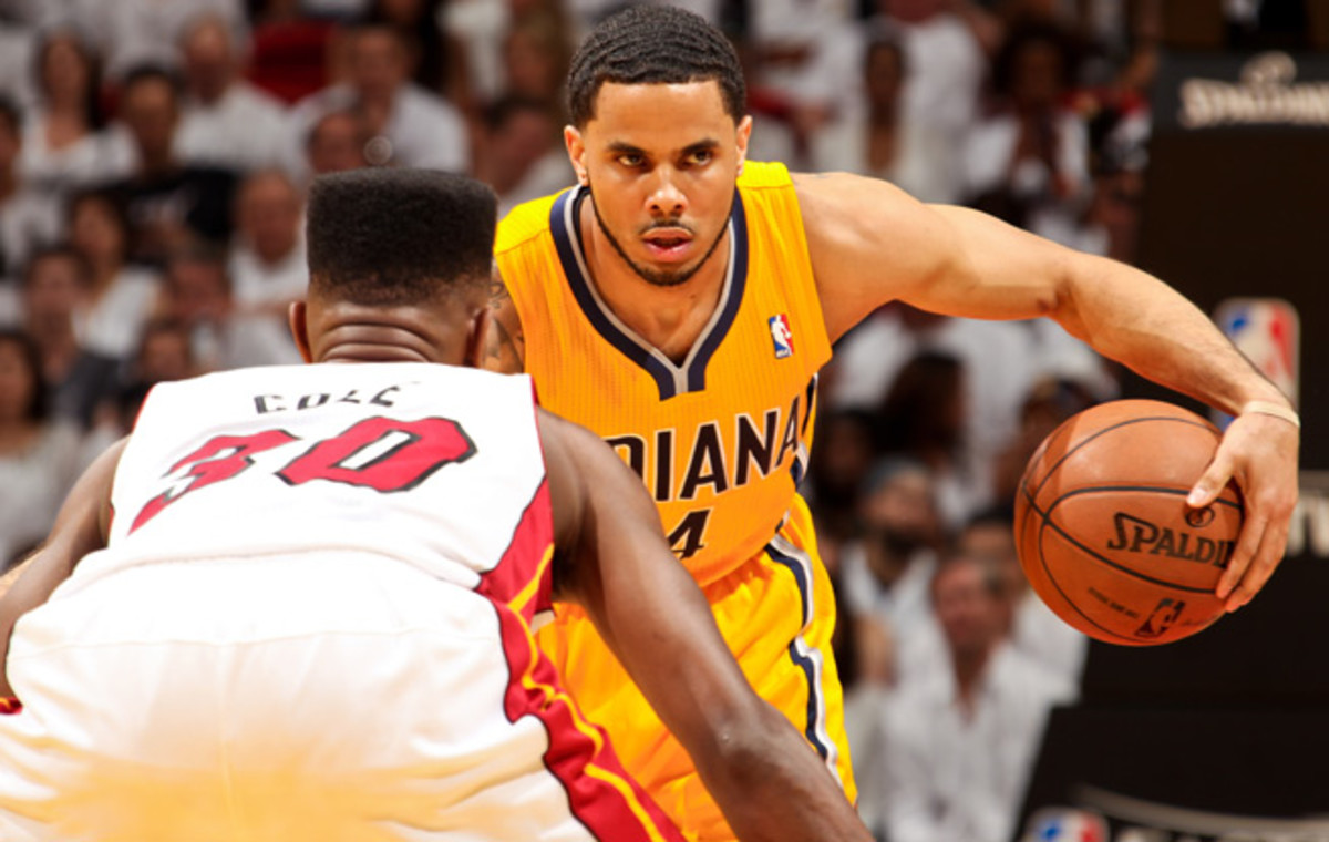 D.J. Augustin owns career averages of 9.6 points and 4.0 assists in 24.5 minutes per game.