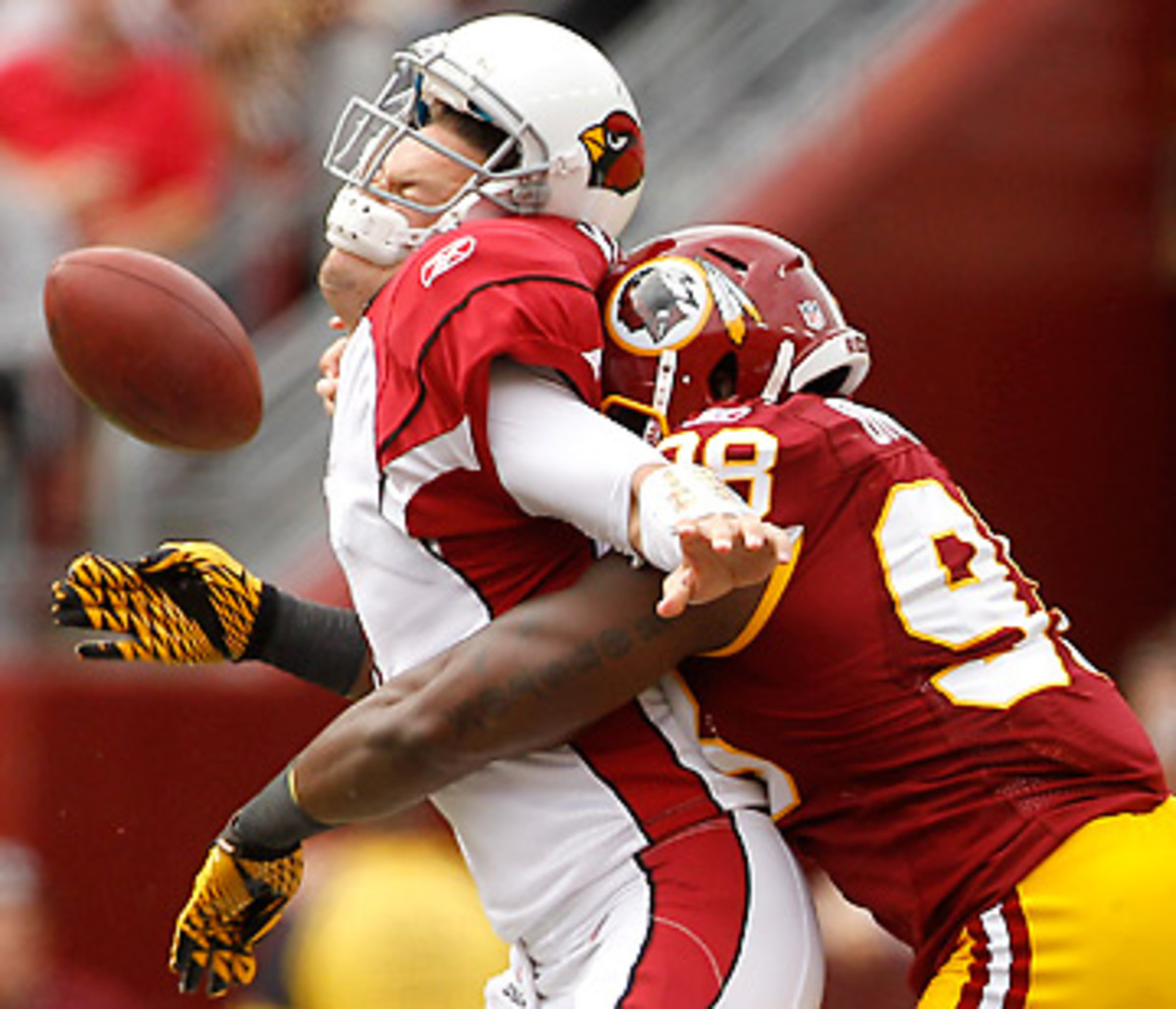 The Redskins are hoping linebacker Brian Orakpo can return healthy and put a hurting on quarterbacks.