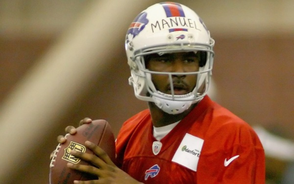 New Bills GM Doug Whaley said he is open to starting rookie EJ Manuel in Week 1. (Rick Stewart/Getty Images)