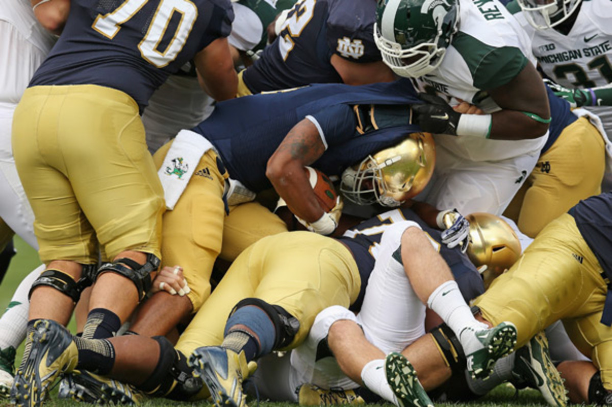 Notre Dame falls out of Top 25