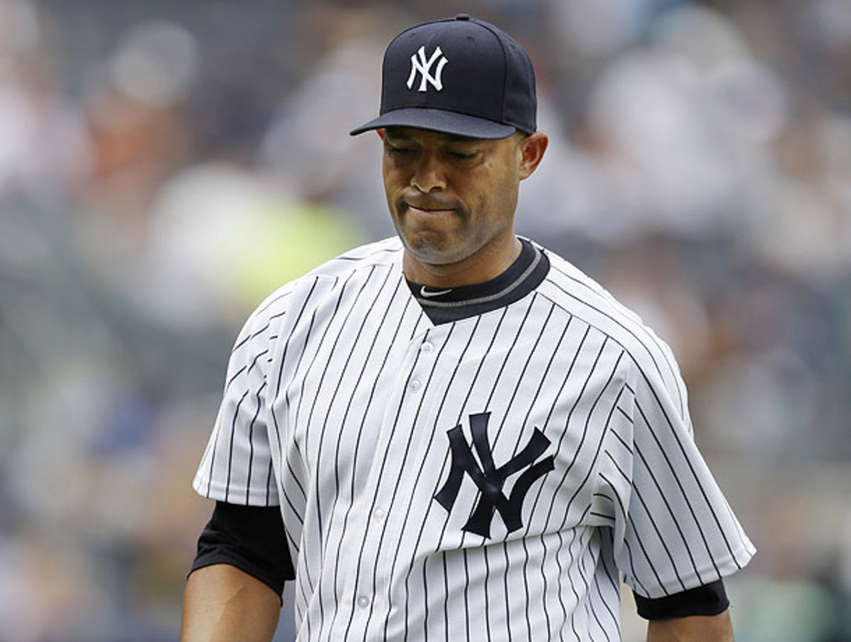 Mariano Rivera seemed nearly invincible this season until a recent string of blown save chances.