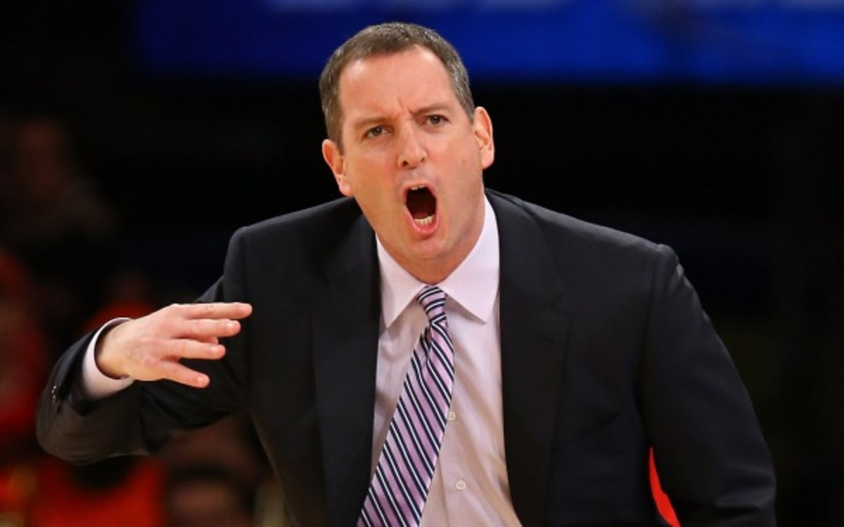 Former Rutgers coach Mike Rice is receiving treatment for anger management. (Al Bello/Getty Images)