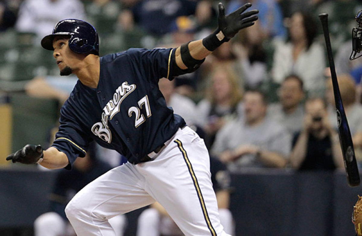 Carlos Gomez put on a rare power display late last year that he plans on continuing this season.