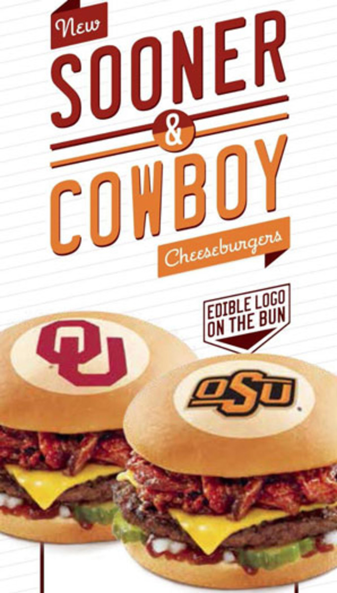 Just when you thought there was nothing left to slap a college logo on.