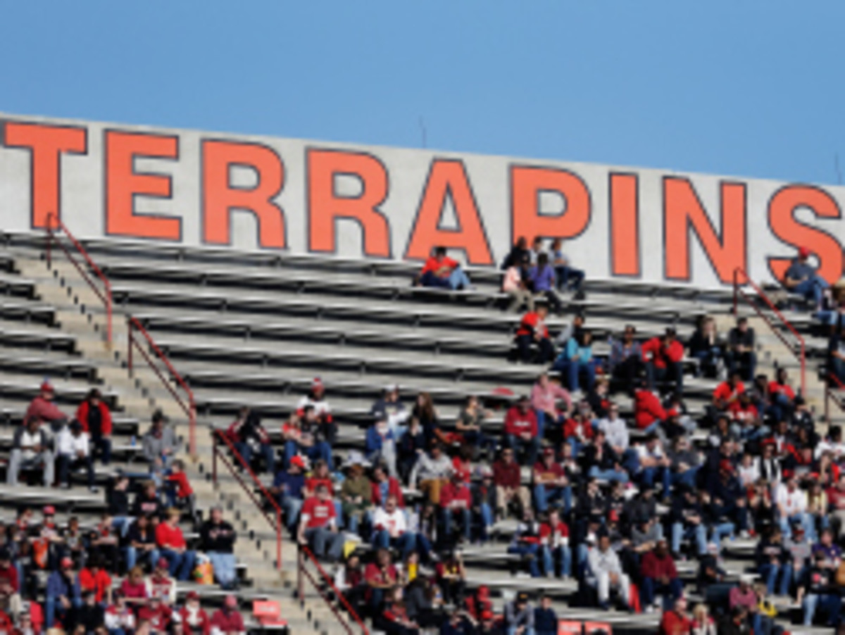 at Byrd Stadium on November 17, 2012 in College Park, Maryland.