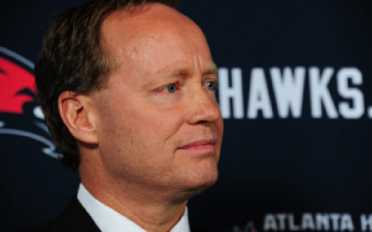 Mike Budenholzer, hired in May to be the next Hawks coach, was charged early Thursday morning with DUI in Atlanta. (Scott Cunningham/Getty Images)