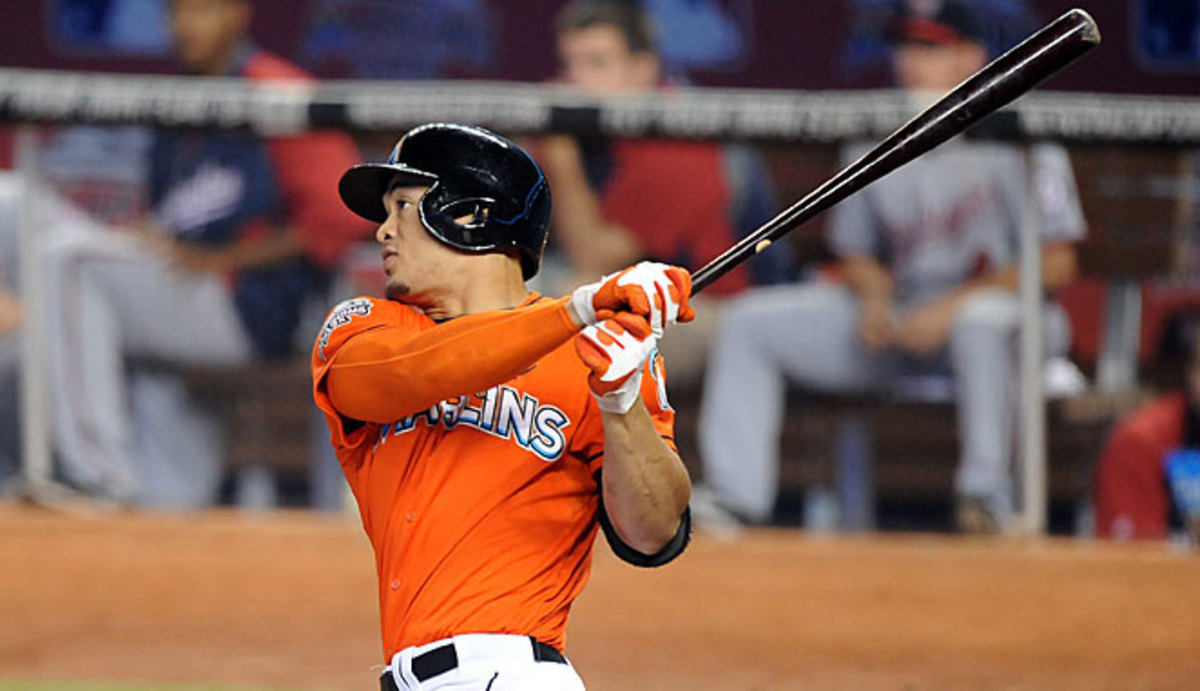 Giancarlo Stanton, one of the few holdovers from last year, may be Miami's only reliable offensive threat.