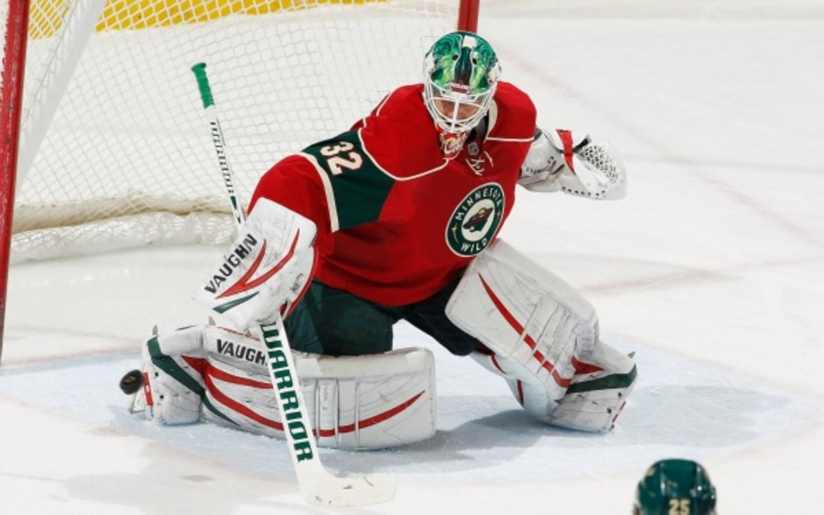 The Wild re-signed goaltender Niklas Backstrom to a three-year deal. (Bruce Kluckhohn/Getty Images)