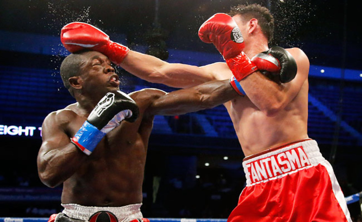 Employing a new fighting style, Andre Berto was defeated by Robert Guerrero last year.