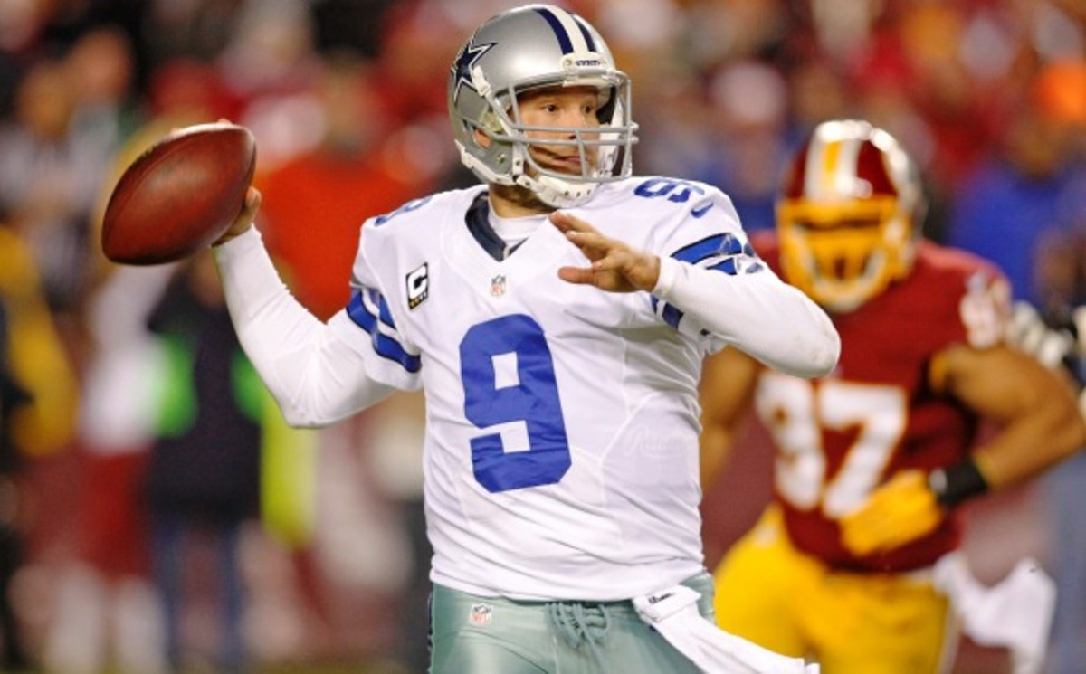 For better or worse, the Cowboys have made a long-term commitment to quarterback Tony Romo. (James D Smith/AP)