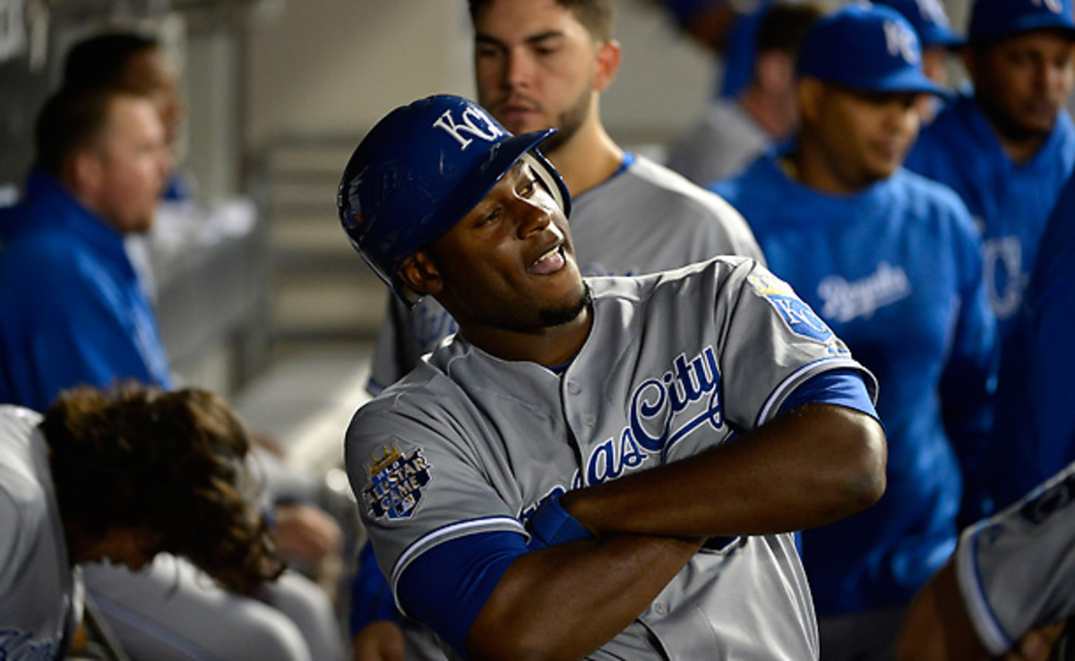 Get used to Lorenzo Cain being flashy this season, as his numbers should be in for a bump. [Brian Kersey/Getty Images]