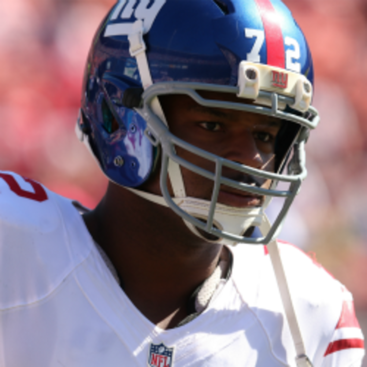 Osi Umenyiora believes the Giants are the best in football (Stephen Dunn/Getty Images)